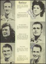 1948 Kermit High School Yearbook Page 22 & 23