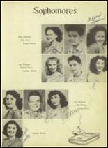1948 Kermit High School Yearbook Page 44 & 45