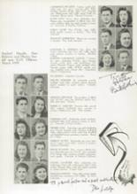 1941 James Madison High School Yearbook Page 44 & 45