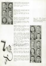 1941 James Madison High School Yearbook Page 58 & 59