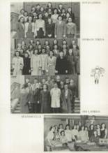 1941 James Madison High School Yearbook Page 110 & 111