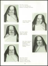 1966 Cathedral High School Yearbook Page 36 & 37