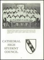 1966 Cathedral High School Yearbook Page 88 & 89