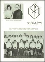 1966 Cathedral High School Yearbook Page 92 & 93