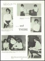 1966 Cathedral High School Yearbook Page 108 & 109