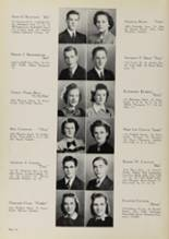 1939 Central Catholic High School Yearbook Page 20 & 21