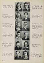 1939 Central Catholic High School Yearbook Page 22 & 23