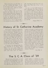 1939 Central Catholic High School Yearbook Page 54 & 55