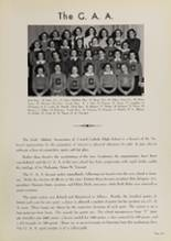 1939 Central Catholic High School Yearbook Page 66 & 67
