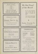 1939 Central Catholic High School Yearbook Page 80 & 81