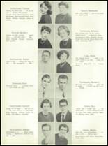 1955 Nott Terrace High School Yearbook Page 20 & 21