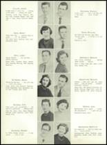 1955 Nott Terrace High School Yearbook Page 22 & 23