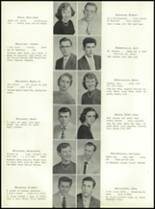 1955 Nott Terrace High School Yearbook Page 34 & 35