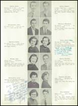 1955 Nott Terrace High School Yearbook Page 36 & 37