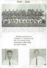 1966 Courtland High School Yearbook Page 16 & 17