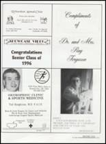 1996 Dardanelle High School Yearbook Page 154 & 155
