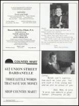 1996 Dardanelle High School Yearbook Page 160 & 161