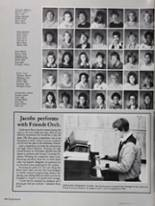 1985 North High School Yearbook Page 152 & 153