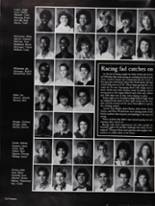 1985 North High School Yearbook Page 166 & 167