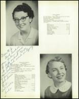 1958 DeRuyter Central High School Yearbook Page 20 & 21