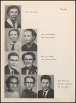 1957 Clyde High School Yearbook Page 14 & 15