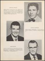1957 Clyde High School Yearbook Page 20 & 21