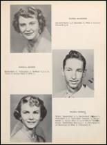 1957 Clyde High School Yearbook Page 22 & 23