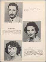 1957 Clyde High School Yearbook Page 24 & 25