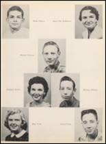 1957 Clyde High School Yearbook Page 32 & 33