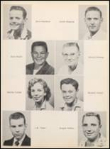 1957 Clyde High School Yearbook Page 42 & 43