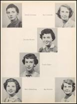 1957 Clyde High School Yearbook Page 46 & 47