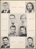 1957 Clyde High School Yearbook Page 50 & 51