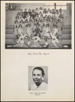 1957 Clyde High School Yearbook Page 70 & 71