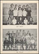 1957 Clyde High School Yearbook Page 82 & 83