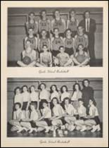1957 Clyde High School Yearbook Page 110 & 111