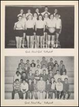 1957 Clyde High School Yearbook Page 112 & 113