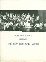 1979 Yearbook Hope High School
