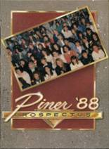 1988 Yearbook Piner High School