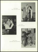 1958 Most Holy Rosary High School Yearbook Page 50 & 51