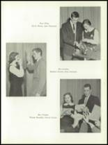 1958 Most Holy Rosary High School Yearbook Page 52 & 53