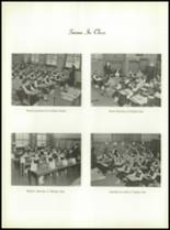 1958 Most Holy Rosary High School Yearbook Page 54 & 55