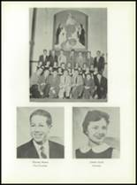 1958 Most Holy Rosary High School Yearbook Page 58 & 59