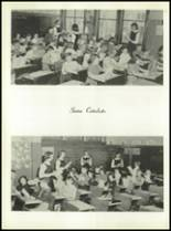 1958 Most Holy Rosary High School Yearbook Page 72 & 73