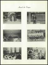 1958 Most Holy Rosary High School Yearbook Page 120 & 121