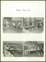 1958 Most Holy Rosary High School Yearbook Page 124 & 125