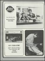 1983 Illinois Valley High School Yearbook Page 108 & 109