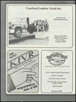 1983 Illinois Valley High School Yearbook Page 112 & 113