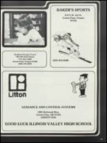 1983 Illinois Valley High School Yearbook Page 118 & 119