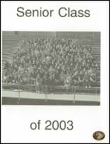 2003 Santa Ynez Valley Union High School Yearbook Page 10 & 11