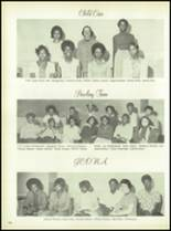 1975 Dunbar High School Yearbook Page 110 & 111